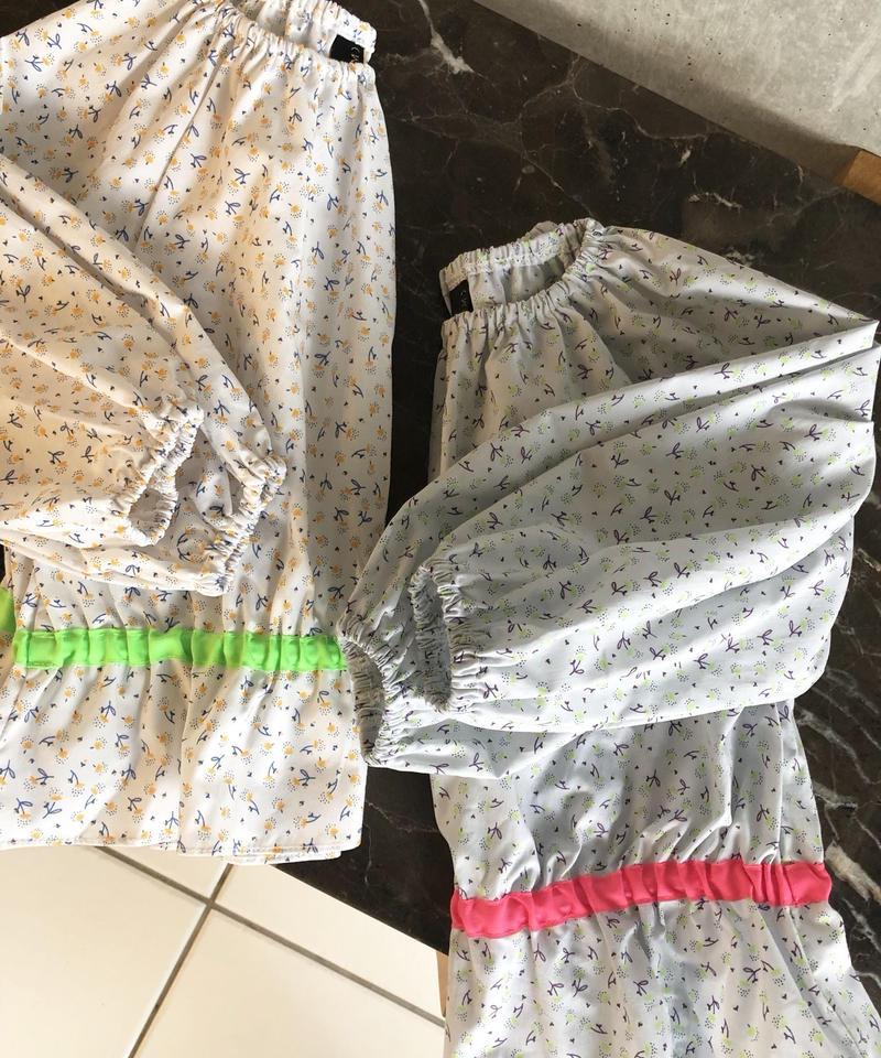 即納 KIDS(select) smock blouse