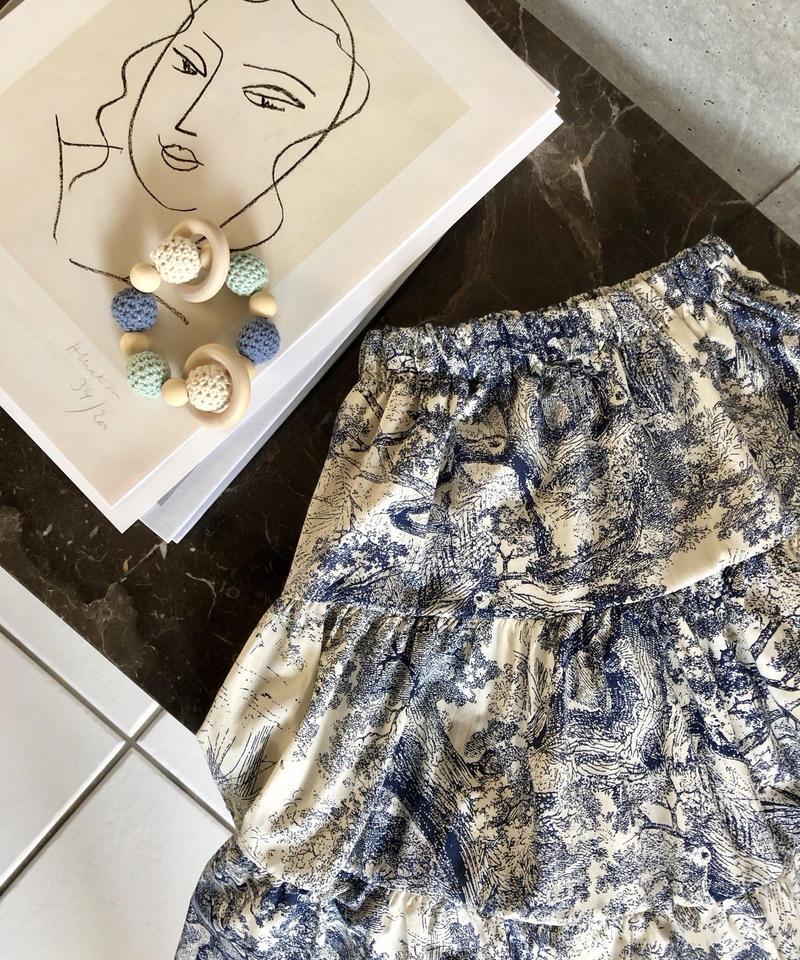 KIDS(select) Tiered skirt