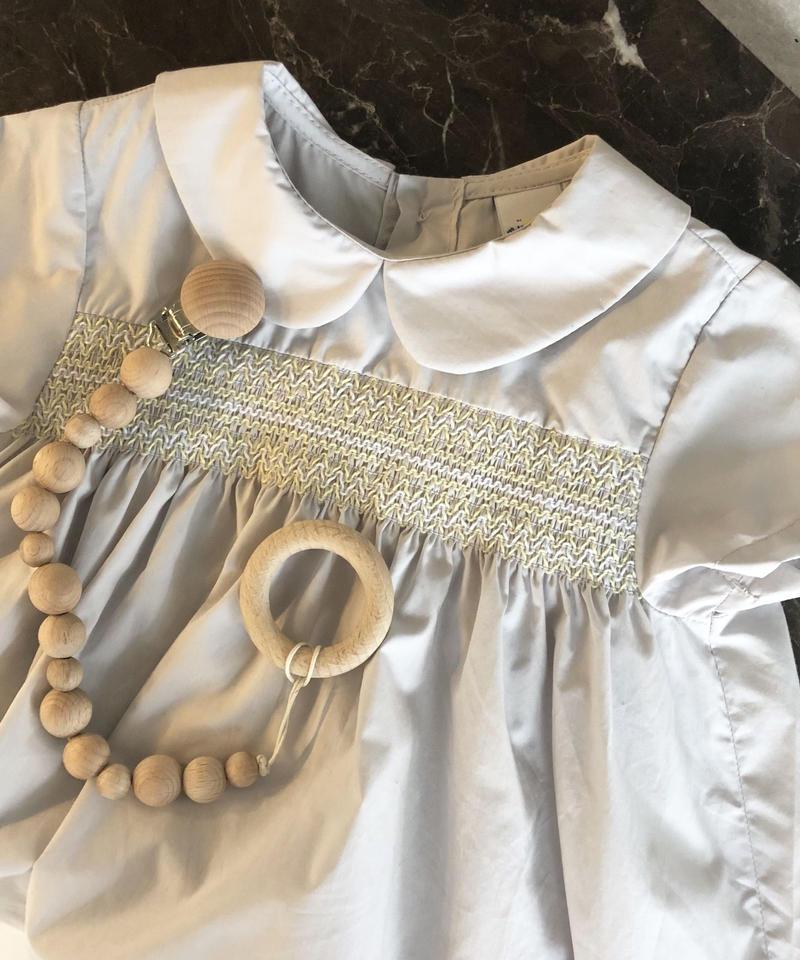 即納 KIDS(select)smocking dress