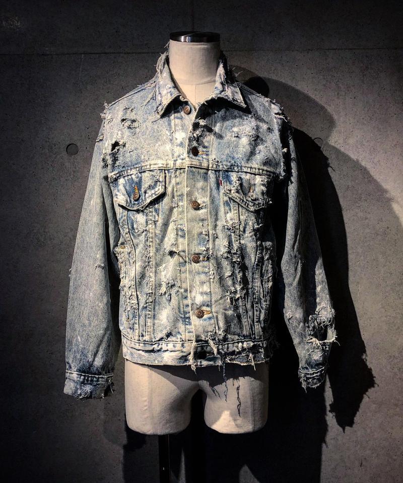 Vintage damage denim jacket