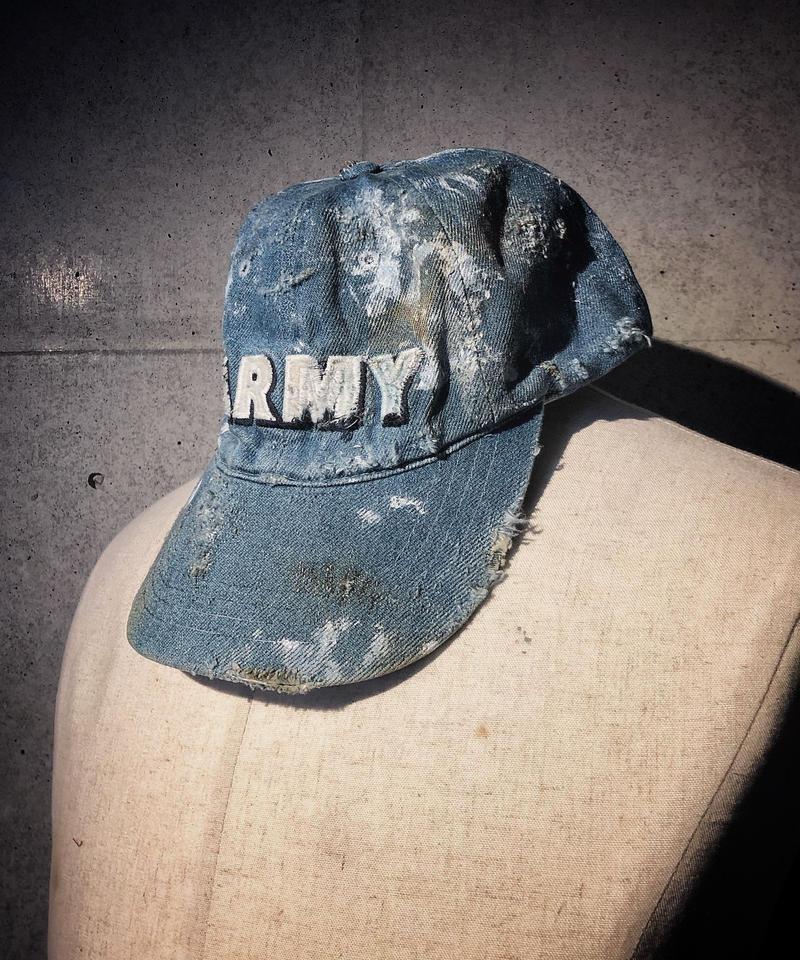 ARMY denim CAP