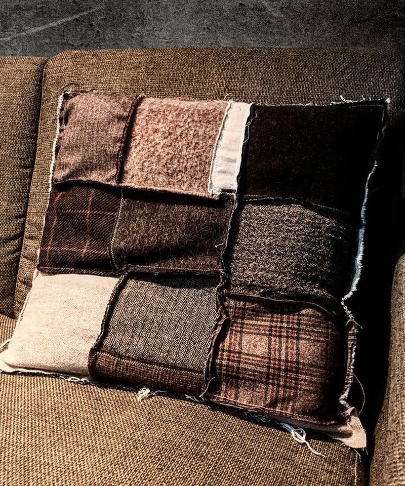Various fabric cushion  BROWN