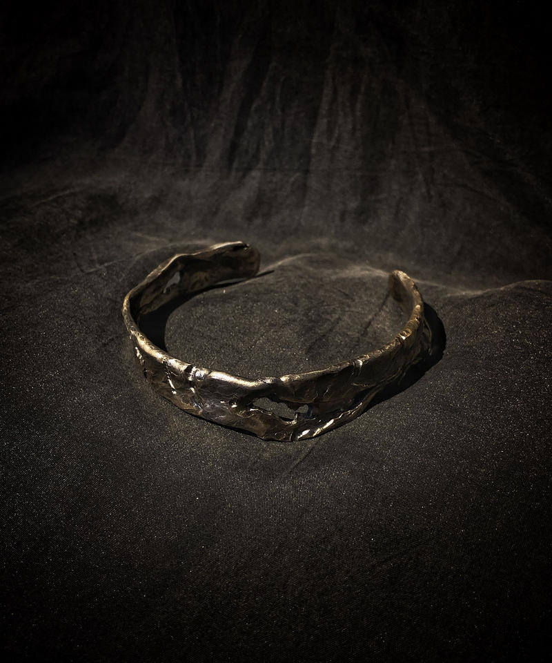 Derelict brass bangle