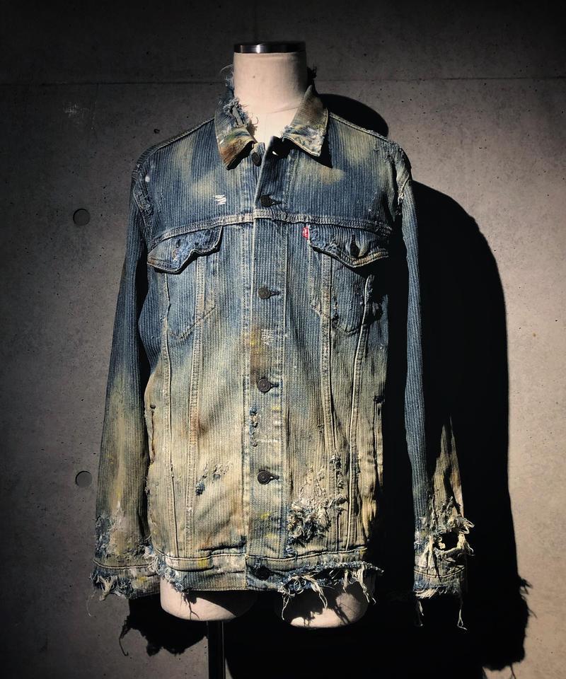 Vintage hickory denim jacket