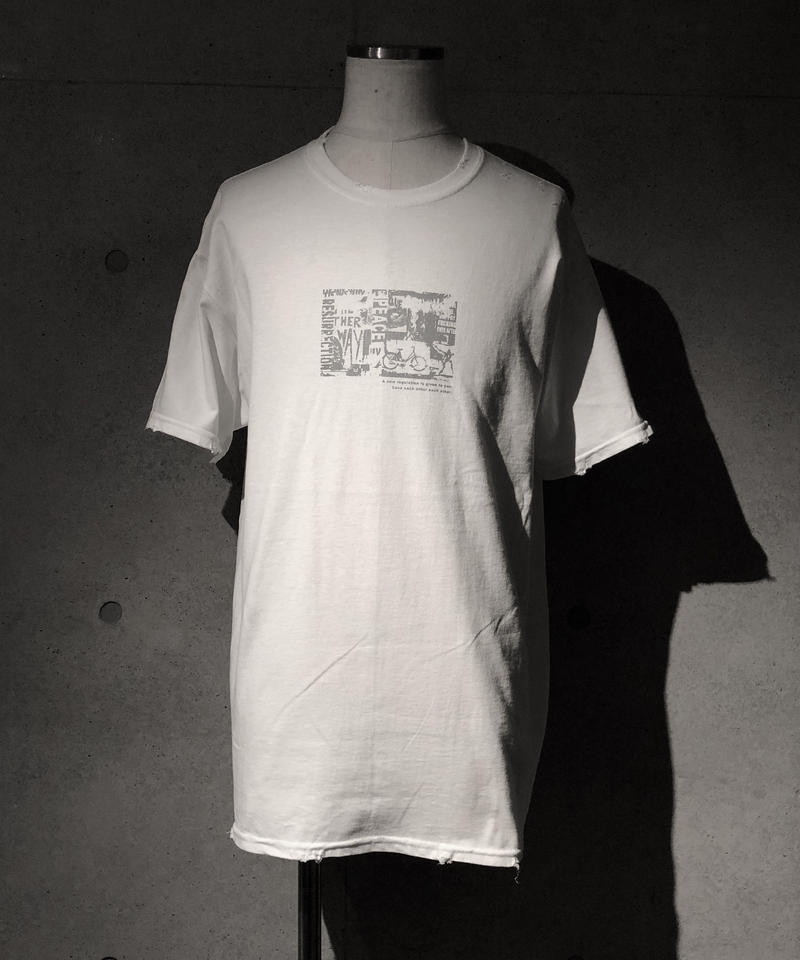 LOVE regulation T-shirt WHITE