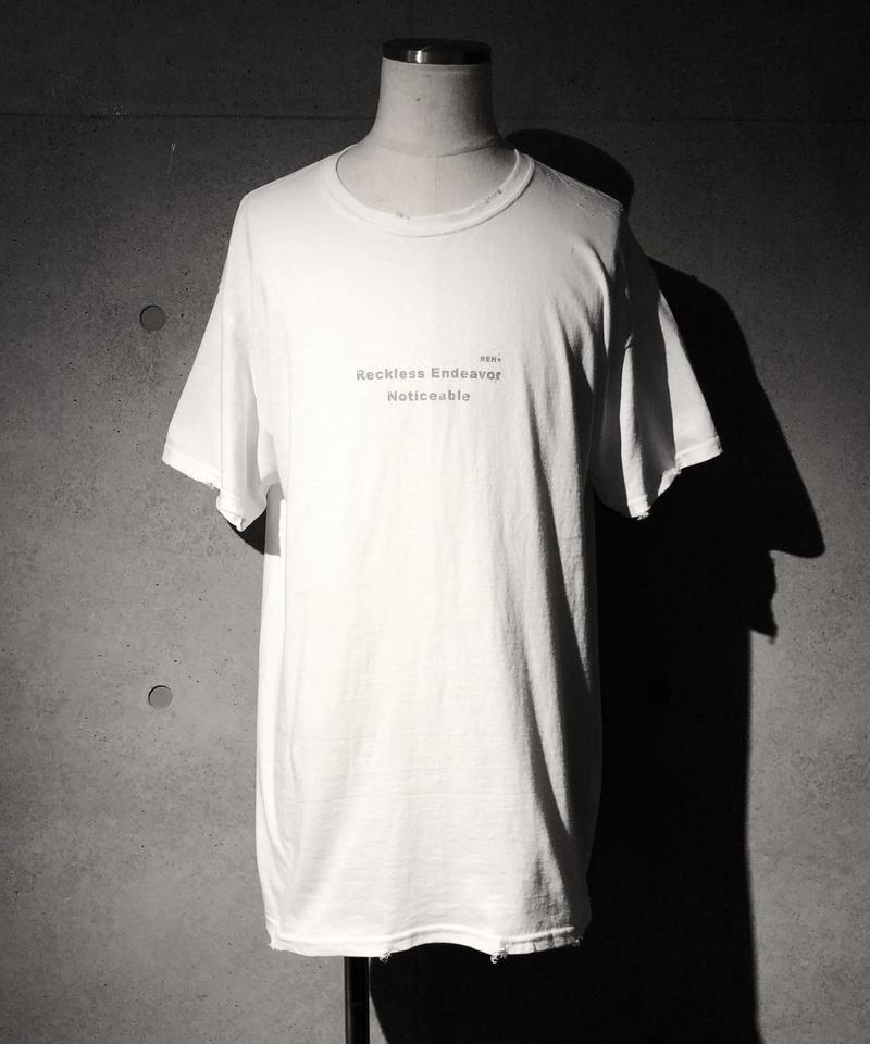 REN= T-shirt WHITE