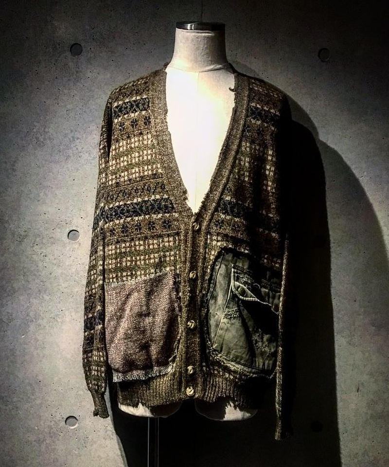 F2Jacket Pocket Knit Cardigan