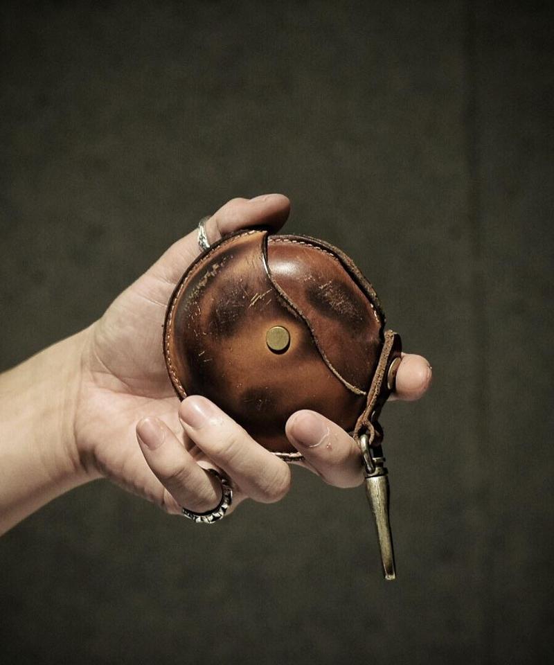 Italian leather Coin case