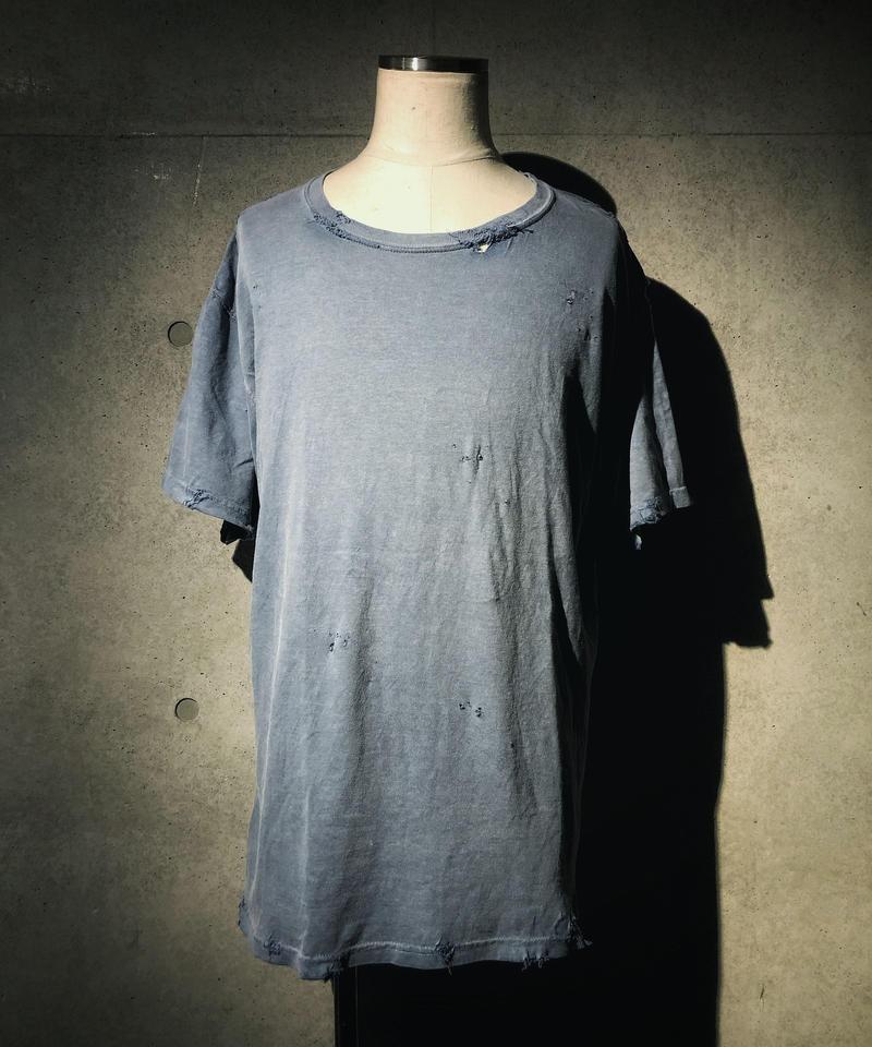 Vintage dye damage T-shirt (Old navy)