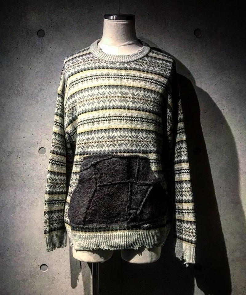Wool Pocket Knit