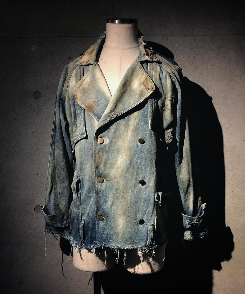 Denim rider's  jacket