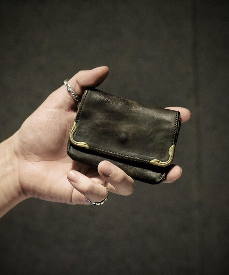 UK bridle leather Coin case
