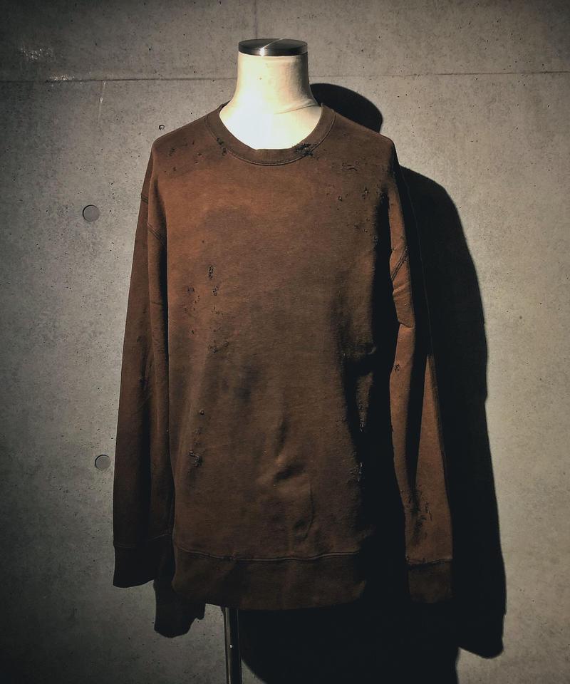 Vintage damage sweat shirt
