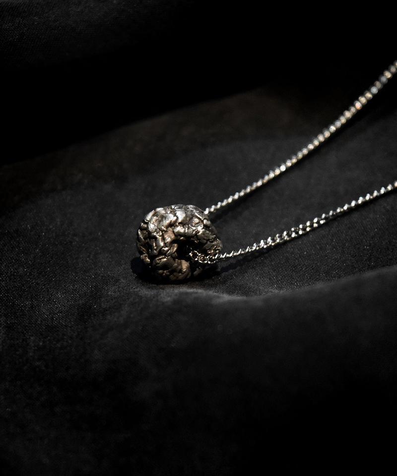Silver Rock Necklace