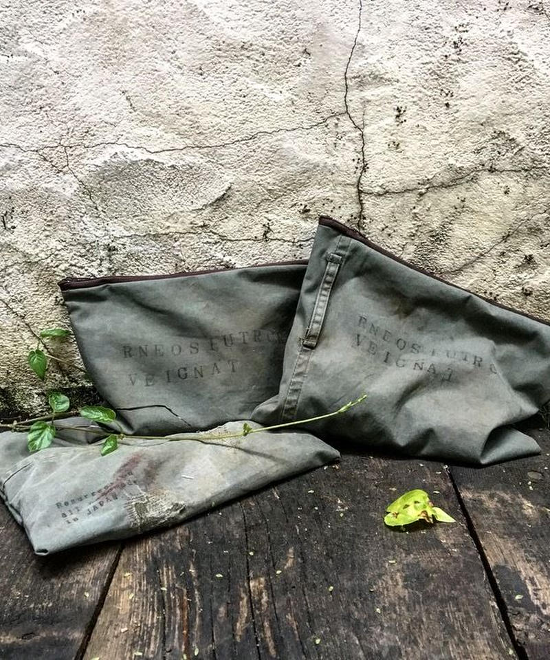 VINTAGE military pouch