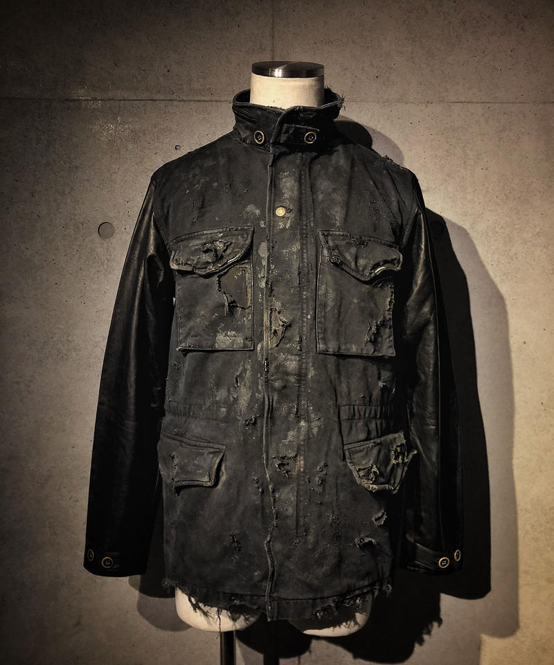EGO TRIPPING × RESURRECTION collaboration military jacket M-65
