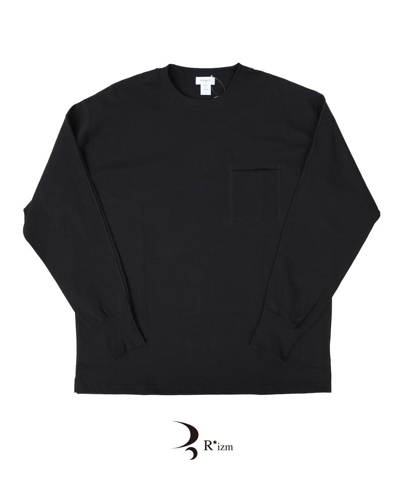 "BEENUTS   ""  Heavy O.Z DELAVE Long Tee ""  BLACK"