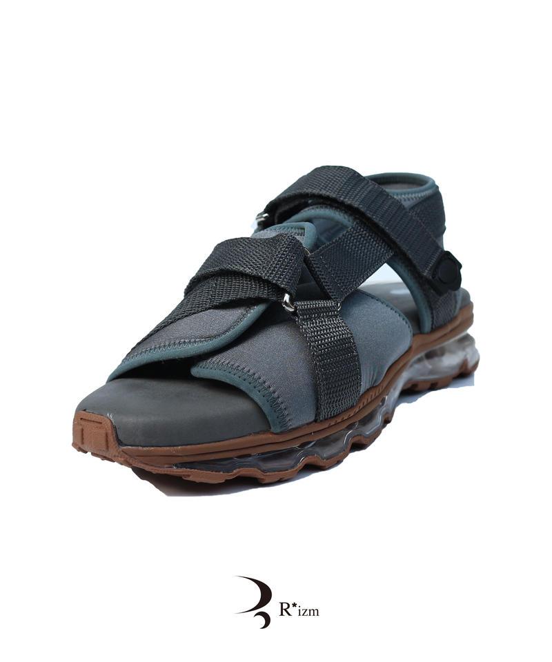 "Tomo&Co.×Name. air sole sandal  "" GRAY"""