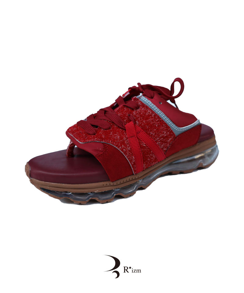"""Tomo&Co.   """"  air sole sandal  """" RED"""""""
