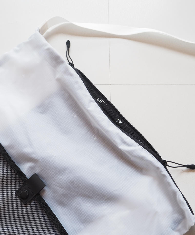 """F/CE.® """"PACKABLE ONE SHOULDER"""" White"""
