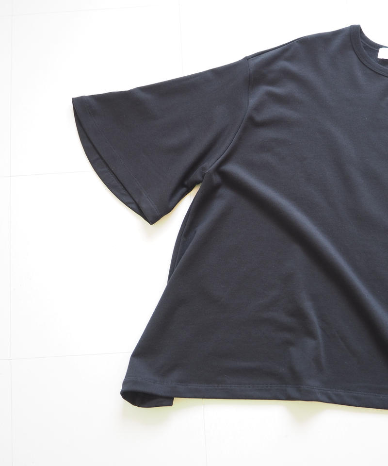 "Graphpaper ""Sweat S/S Irregular hem Tee"" Black women"