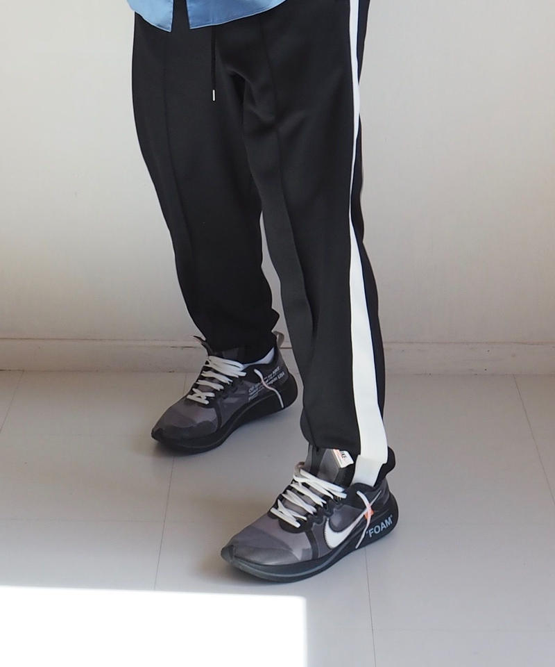 "Graphpaper ""Jersey Track Pants"" Black men's"