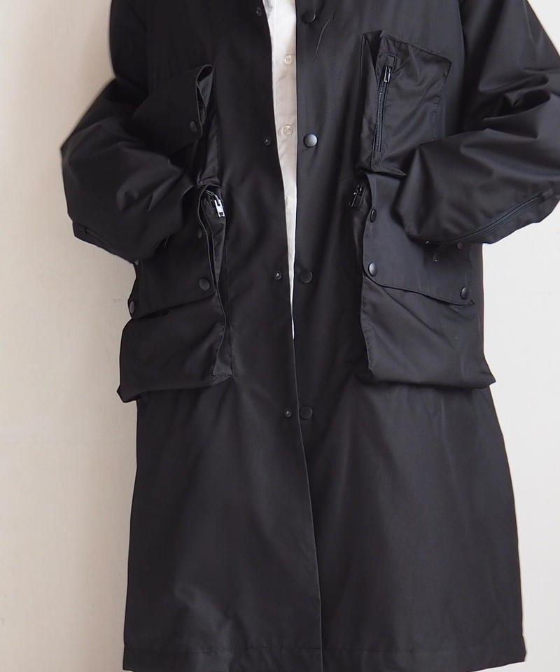 """UNUSED """"US1604 Coat. """" Black unisex"""