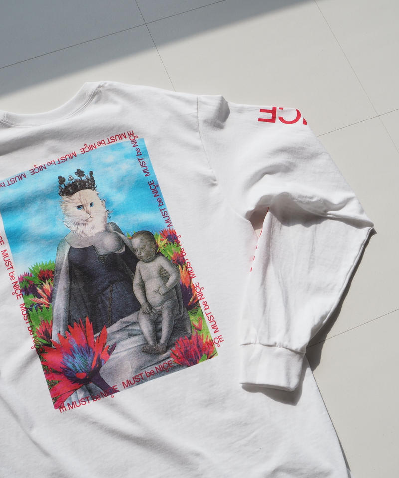 "RIPNDIP ""FOURQUET MADONNA Long Sleeve"" White"