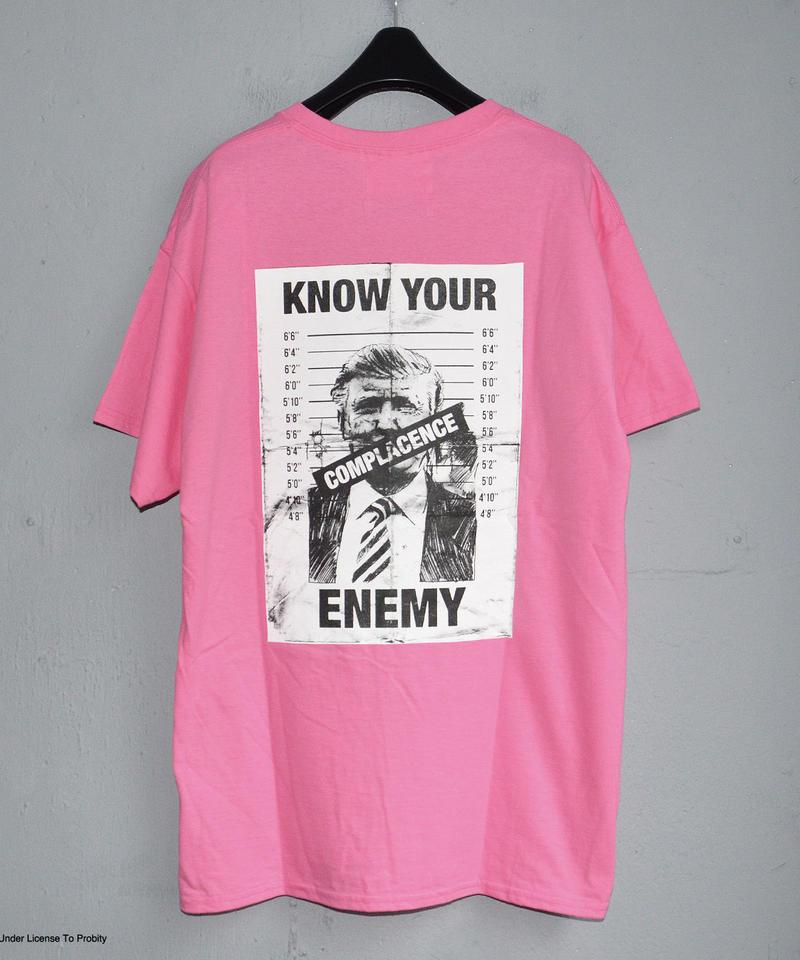 """LABRAT """"Rage Against Machine Trump Tee"""" Pink"""