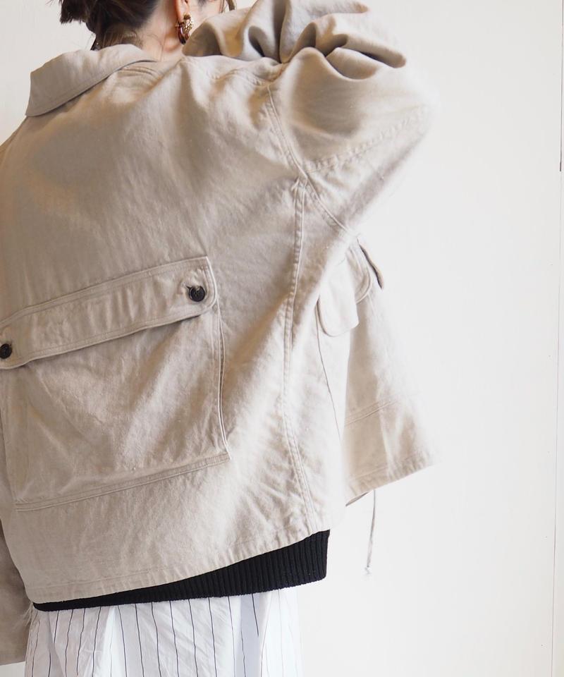 """UNUSED """"US1591 jacket. """" beige unisex"""