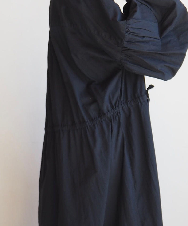 "Graphpaper ""Cotton Loan Big Dress"" Black"