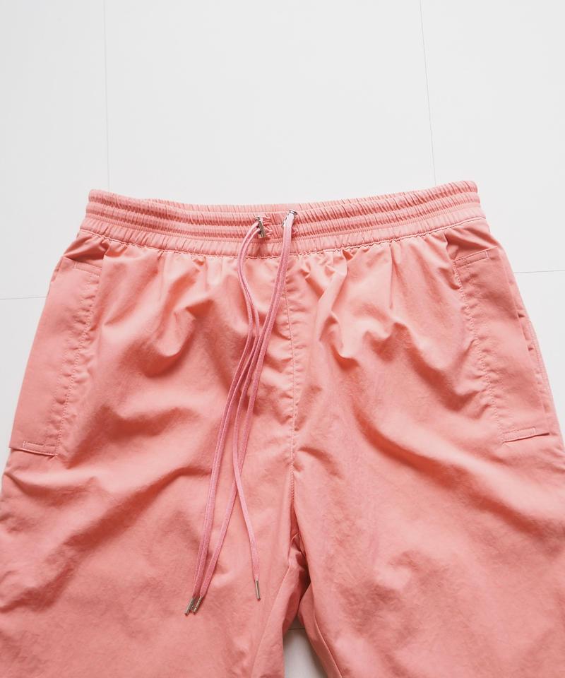 """UNUSED """"UW0697 Nylon Pants"""" Pink unisex"""
