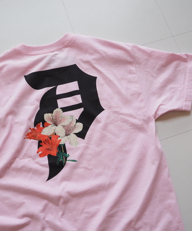 """Primitive """"DIRTY P LILY Tee"""" Pink"""