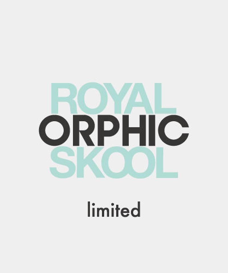 "ORPHIC ""UNION -ROYALSKOOL exclusive-"" Tiffany"