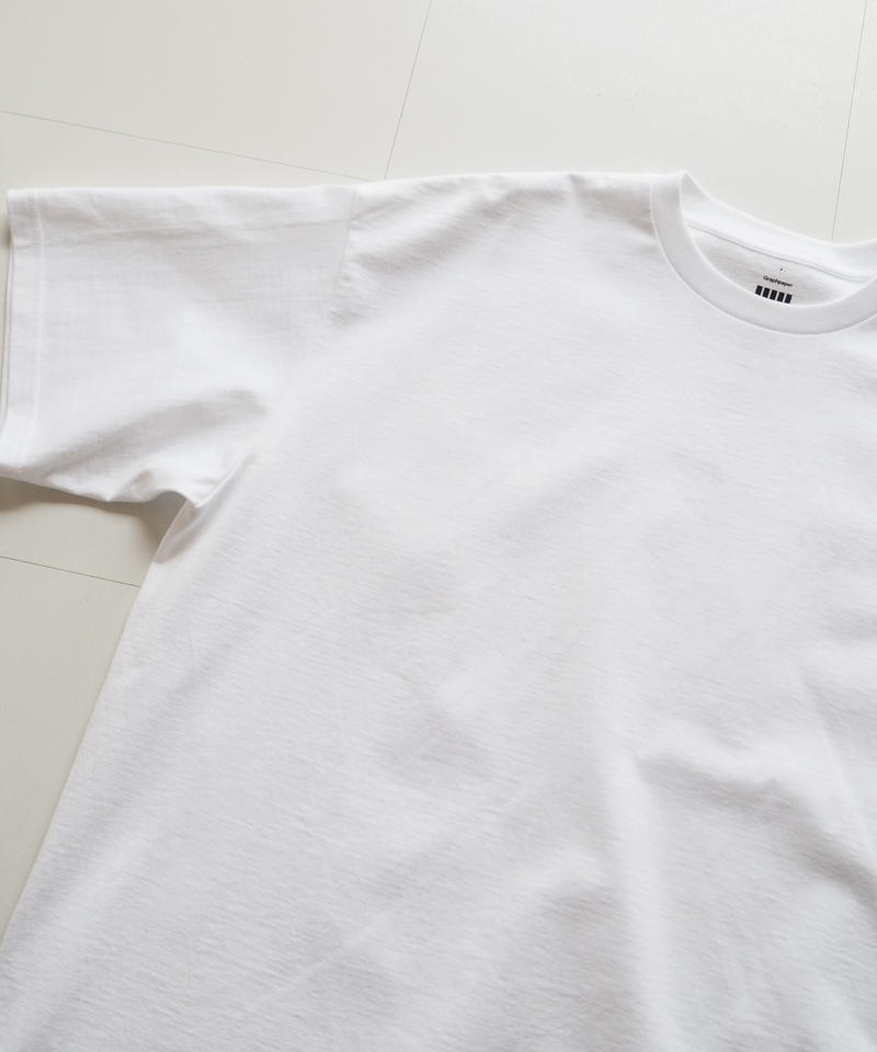 "Graphpaper ""OVERSIZE Tee"" White"