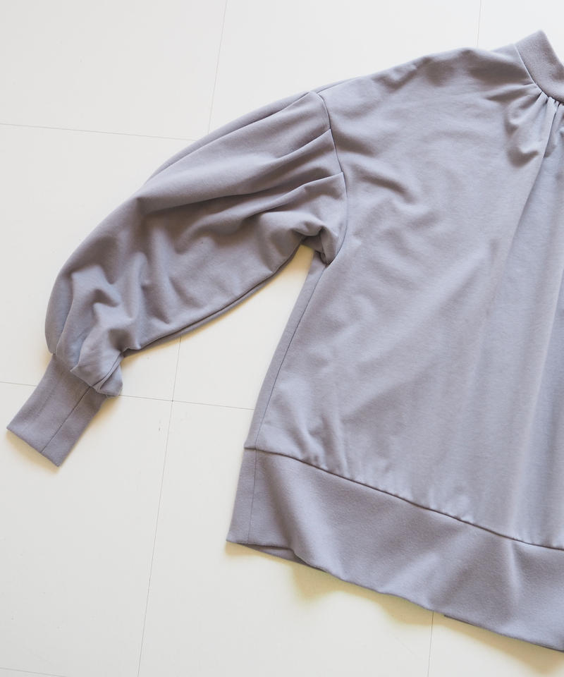 "Graphpaper ""Sweat Balloon Sleeve Pull Over"" Gray women"