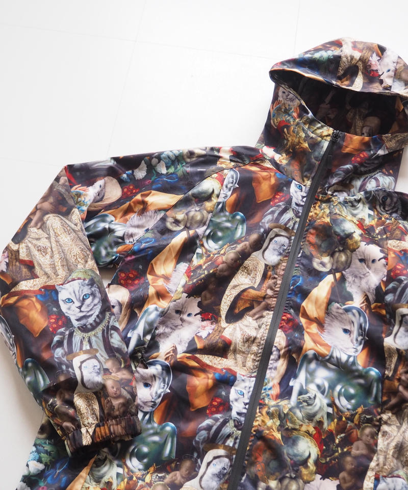 "RIPNDIP ""MERMAISSANCE Full Zip Anorak Jacket"""