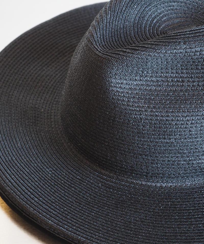 "COMESANDGOES  ""W/BRIM BLADE HAT"" Black"