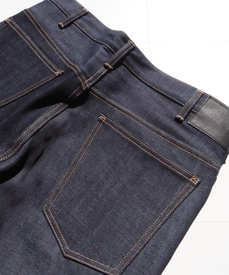 "UNUSED "" UW0300 12oz rigid denim five pockets pants."" Indigo unisex"