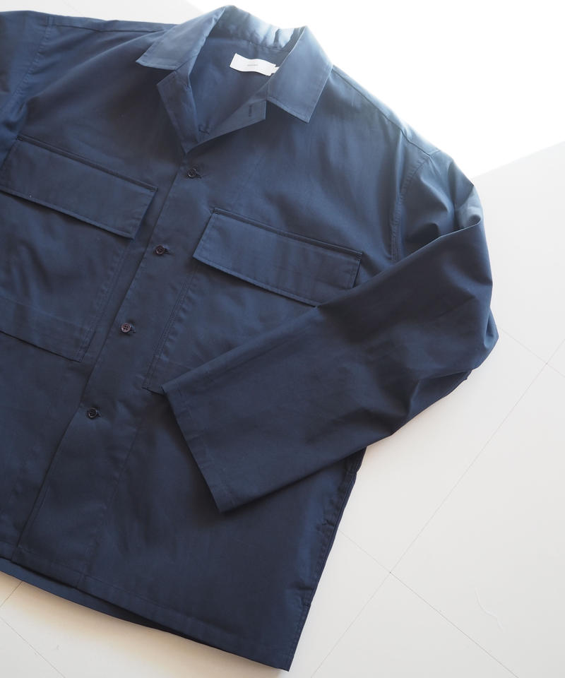 "Graphpaper ""Stevensons Military Shirt"" Navy unisex"