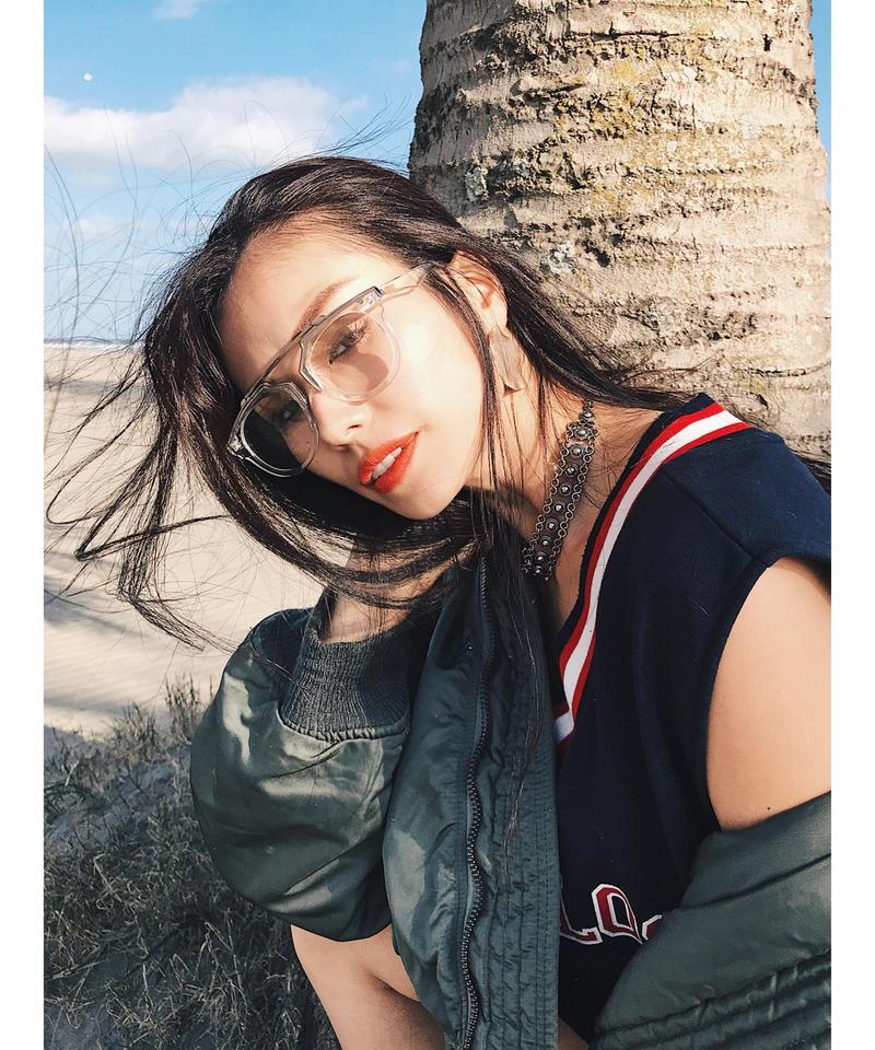 Clear glasses