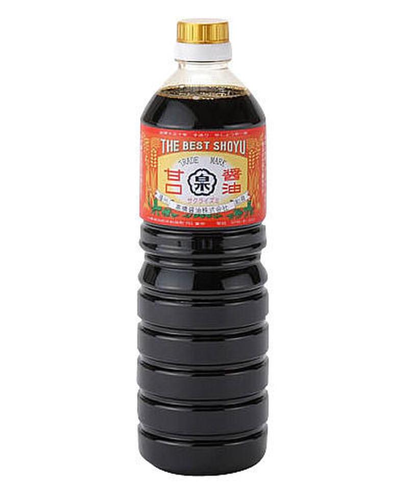 あまくち醤油(1Lペットボトルタイプ)