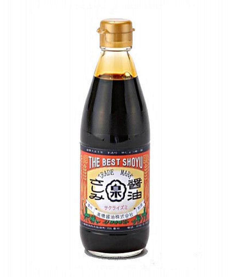さしみ醤油(360ml瓶)