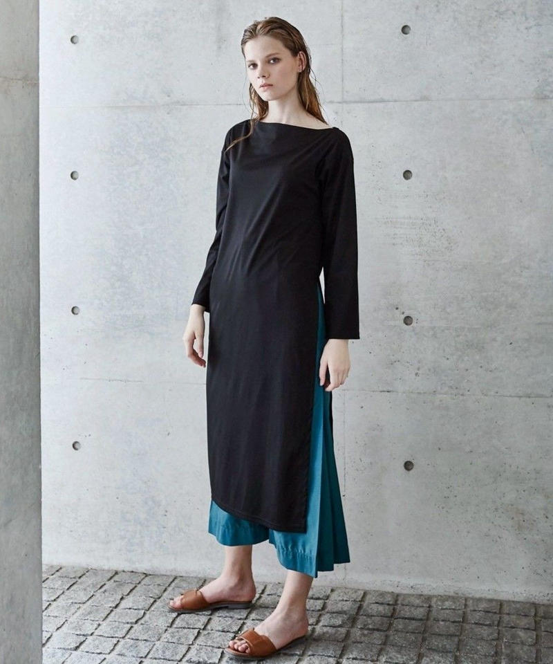 [19SS] SUVIN SLIT DESIGN LONG T