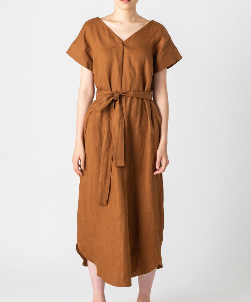 2WAY LINEN ONE-PIECE