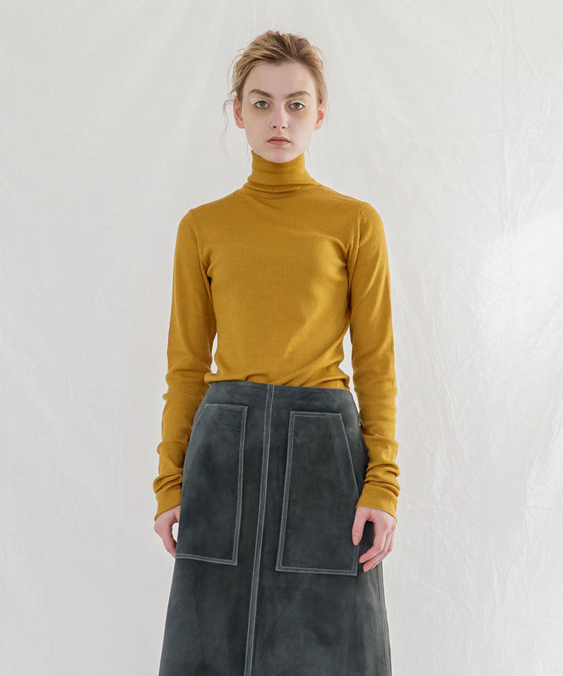 WASHABLE WOOL TURTLENECK KNIT