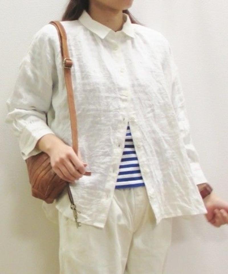 【定番人気】YARRA リネンベーシックシャツ