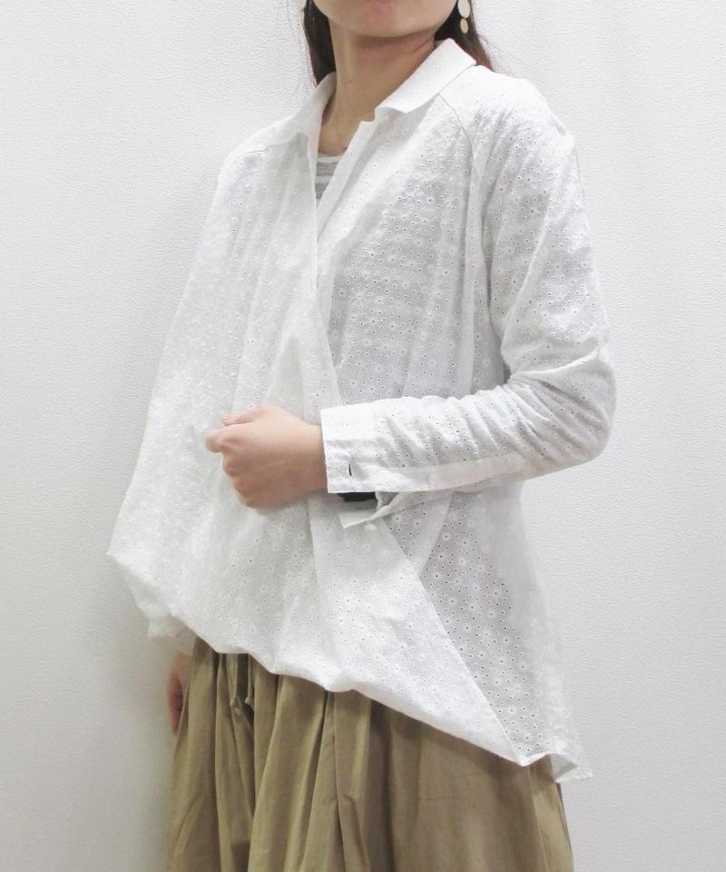 【2019SS新作】glaz カットレースツイストシャツ
