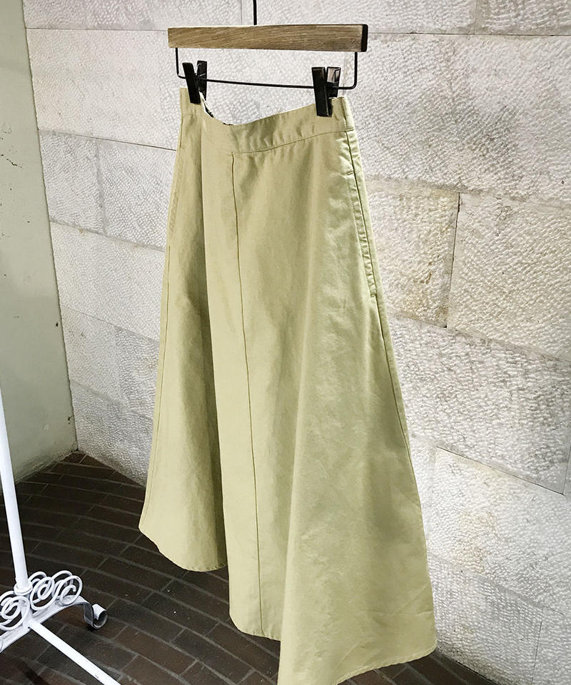 "Cotton twill circular skirt  ""2color""[209937526]"