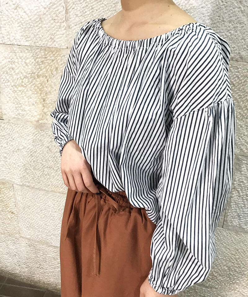 """broadcloth 2way blouse """"1color""""[211927565]"""